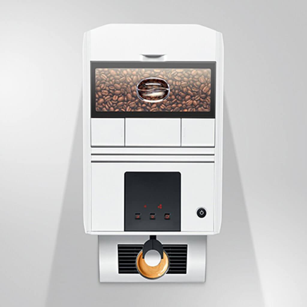JURA A1: Kompakte Eleganz für Kaffeepuristen!