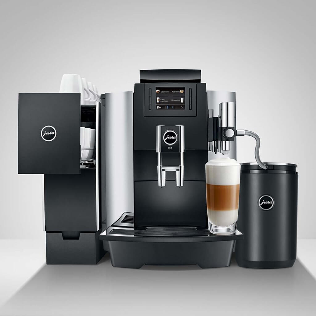JURA WE8: Kaffeespezialitäten für den Arbeitsplatz!