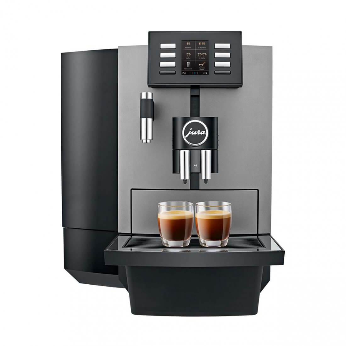 JURA X6: Der solide Schwarzkaffee- und Teewasser-Profi!