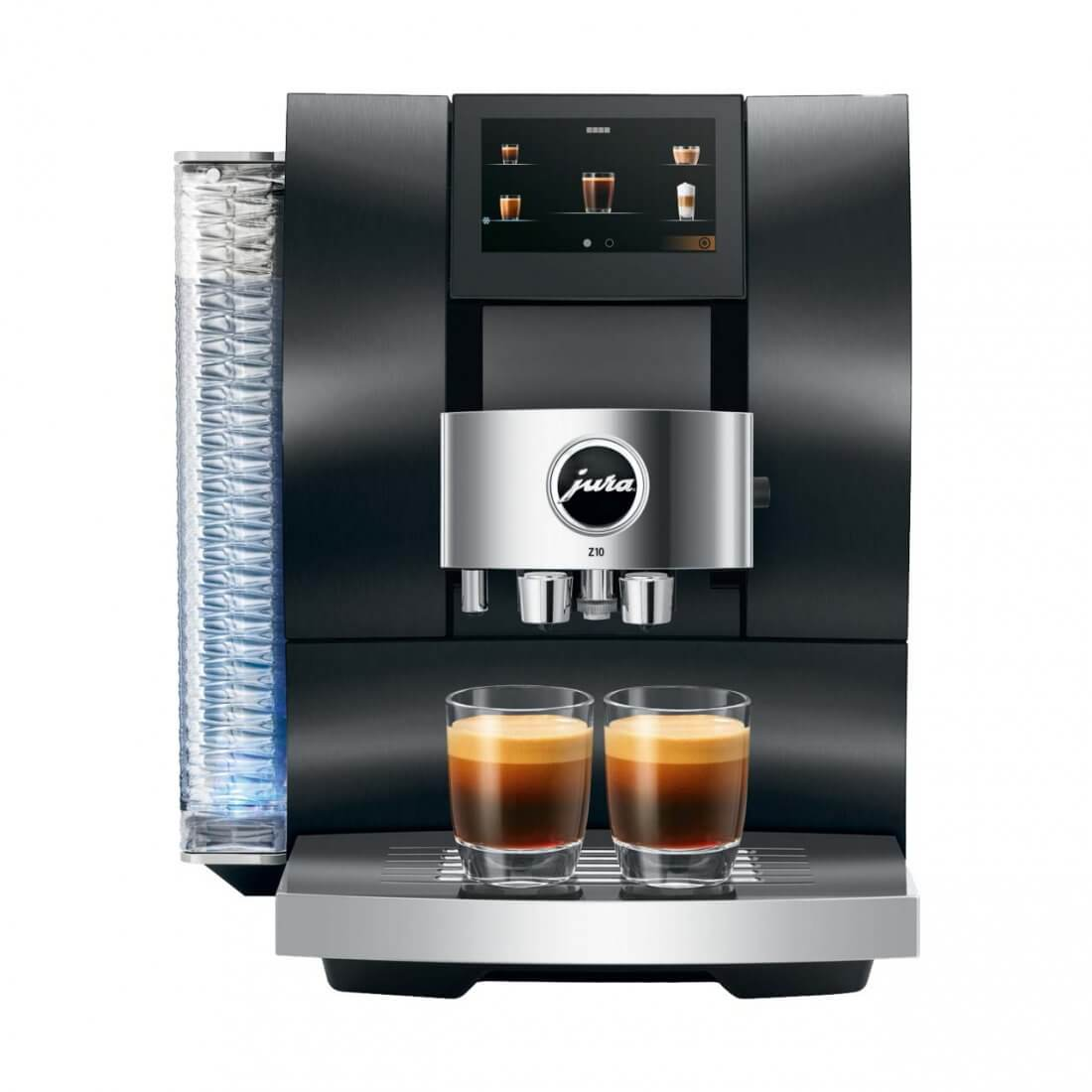 JURA Z10: Die bahnbrechende Z10 mit P.R.G. für heiße und Cold-Brew-Kaffeespezialitäten!